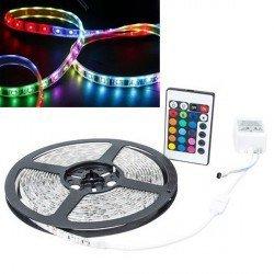Tira de LED Flexible 5m Multicolor con Mando a Distancia, BandDLED