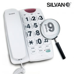 TELÉFONO FIJO TECLAS GRANDES SILVANO