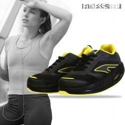 SCARPE FITNESS - STEP BLACK – YELLOW
