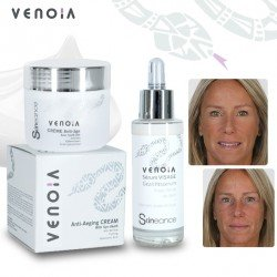 venoia basic kit (day cream + face serum)
